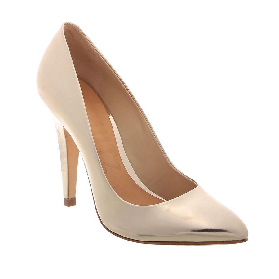 9bb76dadb7c01 كعب عالي برونز - أحذية سهرات - أحذية نسائية